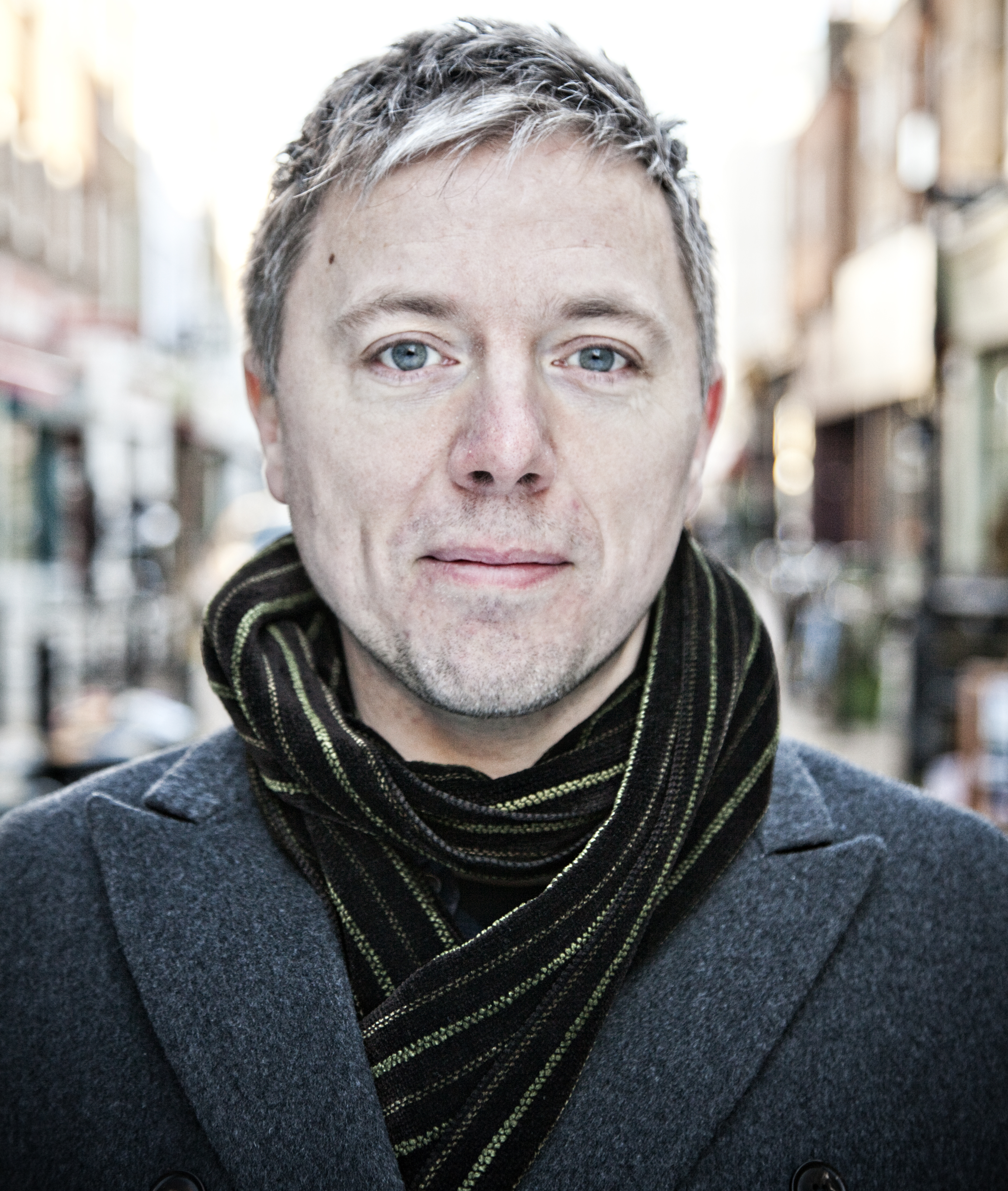 Ian Leslie Speaker