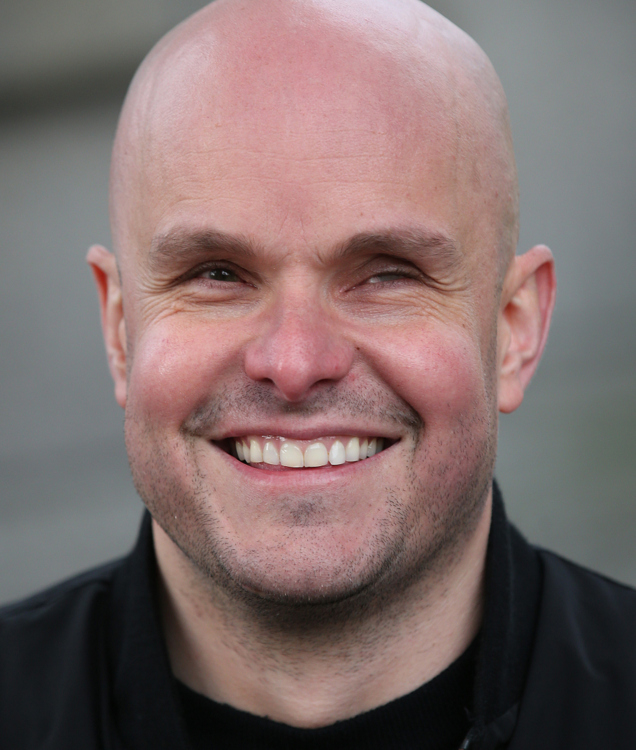 Mark Pollock keynote speaker - Photographed by Peter Macdiarmid for the Mark Pollock Trust