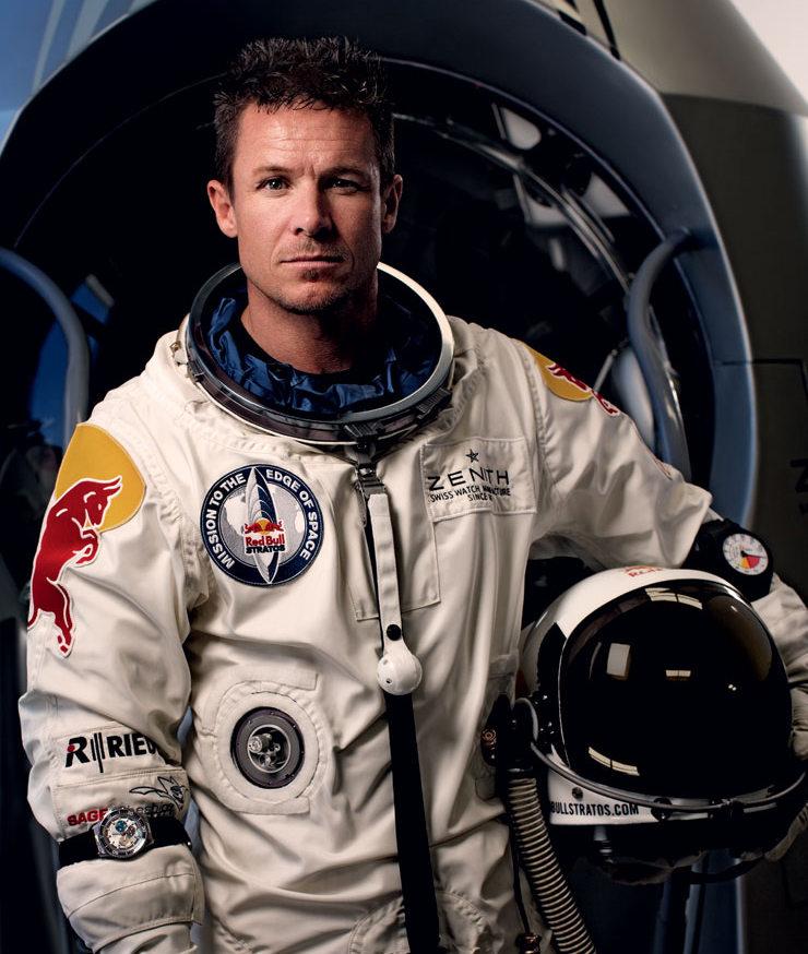Parachutisme : Projet EXCELSIOR . Felix-Baumgartner-2-Wordpress