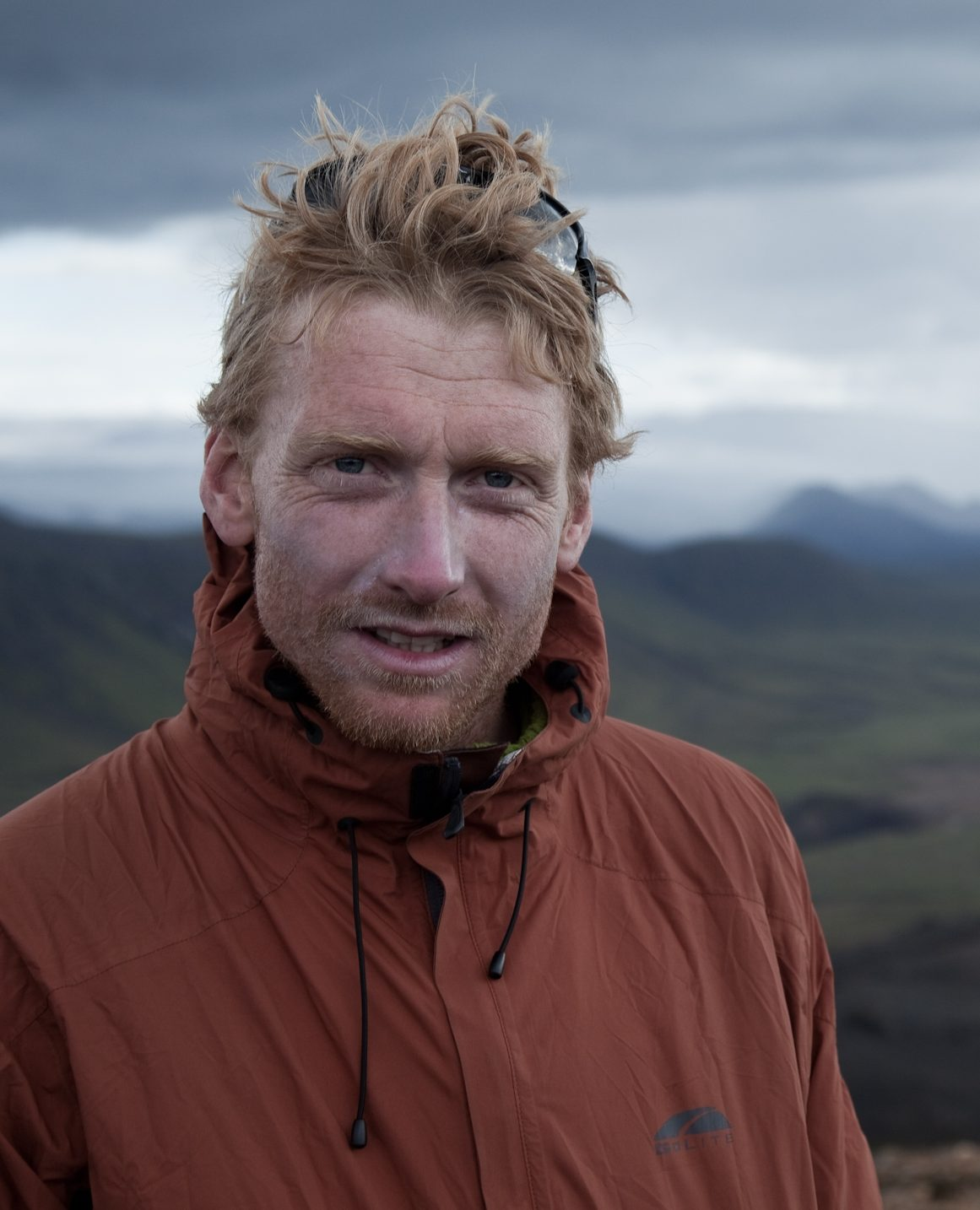 Alastair Humphreys in mountains