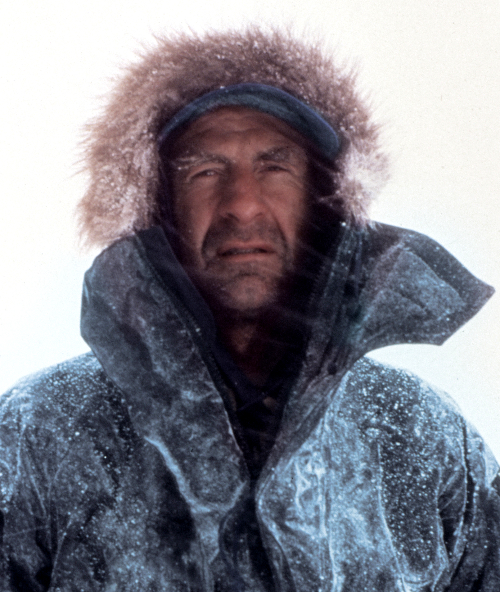 Ranulph Fiennes speaker - Photo by John Cleare