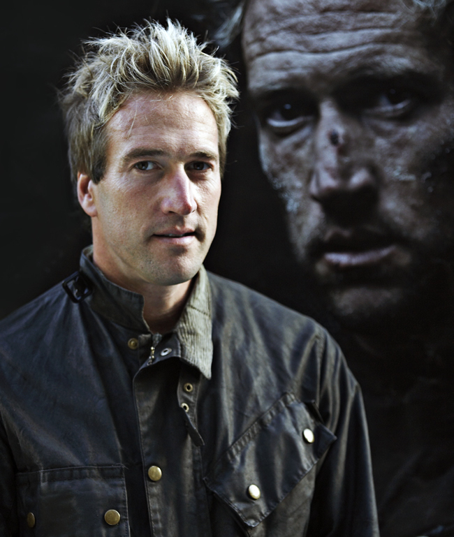 Ben Fogle speaker - Photo by Jeff Gilbert