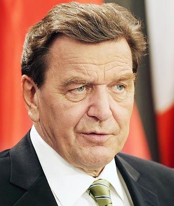 Gerhard Schroder speaker