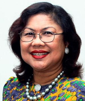 Rafidah Aziz speaker