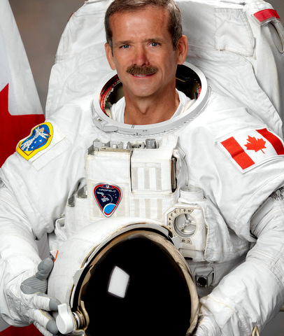 Chris Hadfield speaker