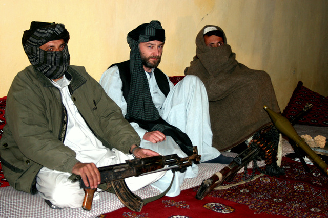 James Fergusson [with Taliban]