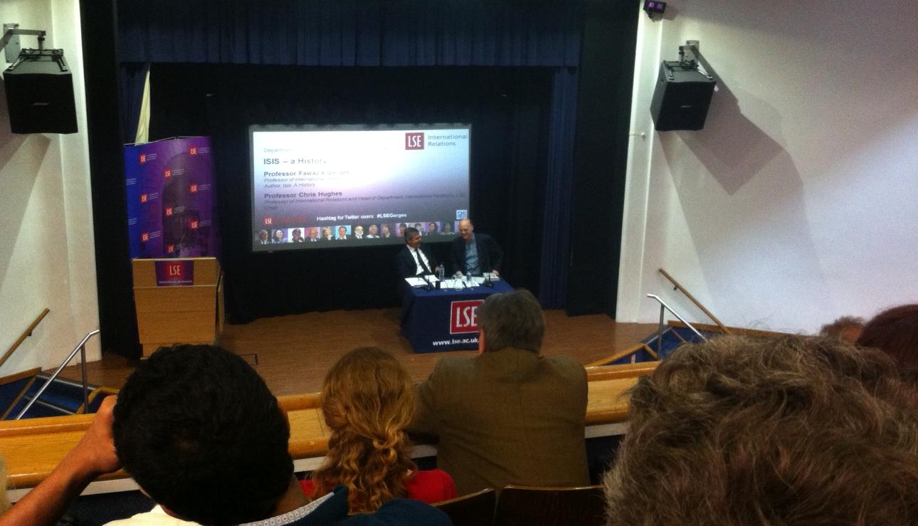 LSE public lecture, expert speaker on the Middle East Professor Fawaz Gerges